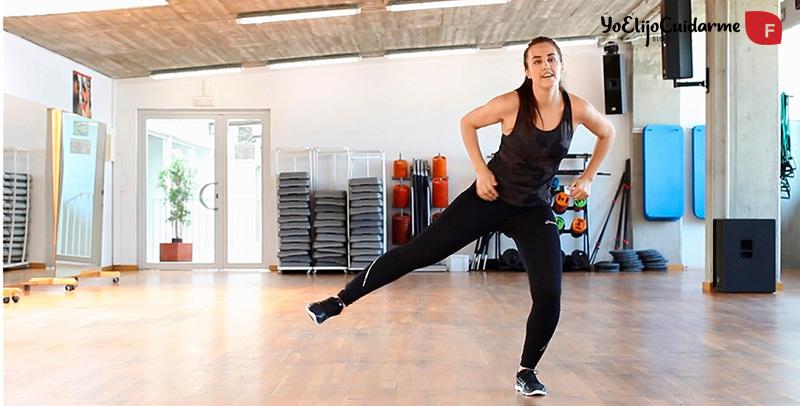 Rutina ejercicios cardio de 10 minutos para perder peso, por Patry Jordán