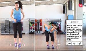 Pierde peso con estos ejercicios