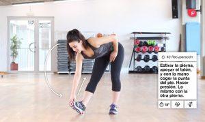 Ejercicios de estiramiento después del ejercicio