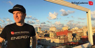 Ibon Zugasti, miembro del equipo de ciclismo Imparables