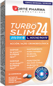 Forté Pharma Turboslim 24 es ideal para quemar calorías, eliminar grasa y recuperar tu figura.