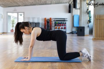 Ejercicios para fortalecer la espalda alta y baja (lumbares) desde casa, por Patry Jordán