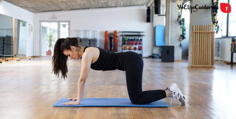 Ejercicios para fortalecer la espalda desde casa, por Patry