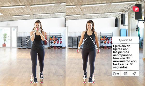 Rutina de ejercicios cardiovasculares