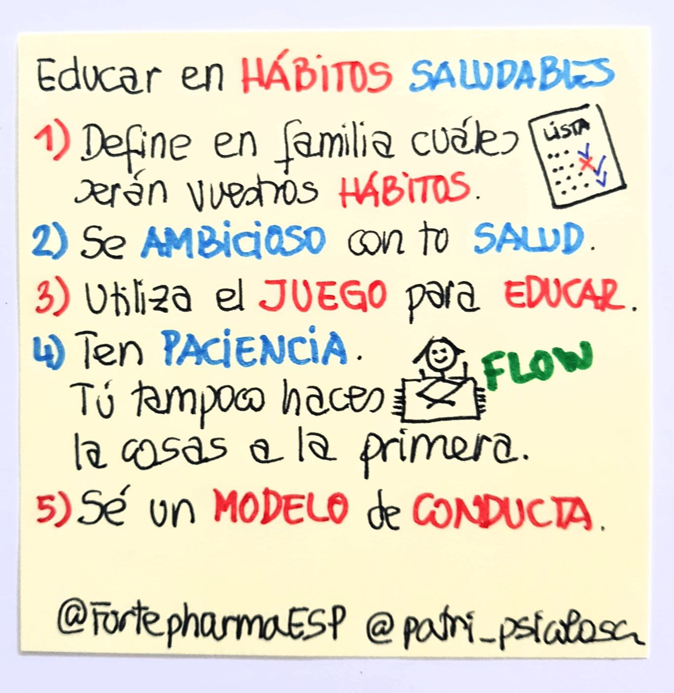 Educar en hábitos saludables