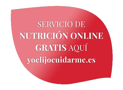Servicio de Nutrición Online