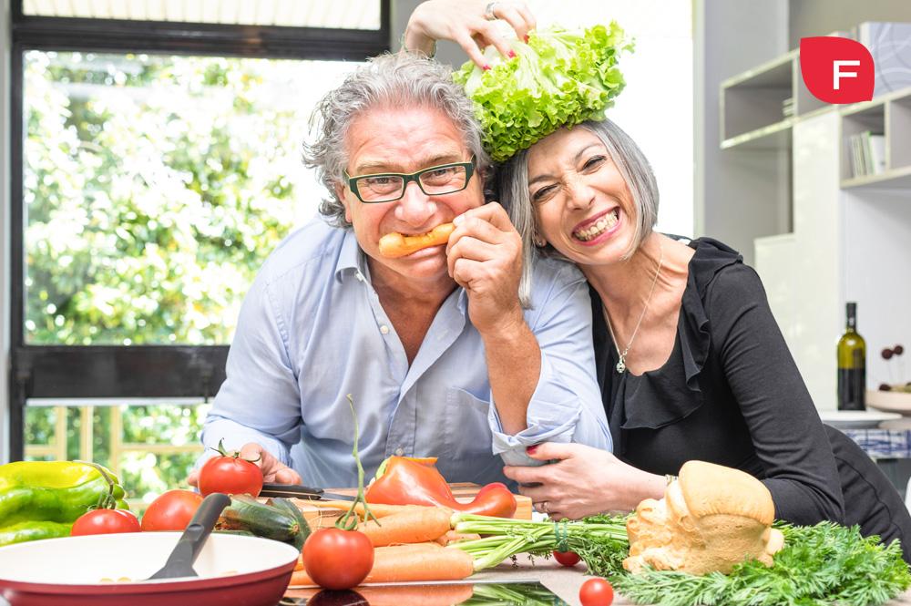 Alimentación en personas mayores