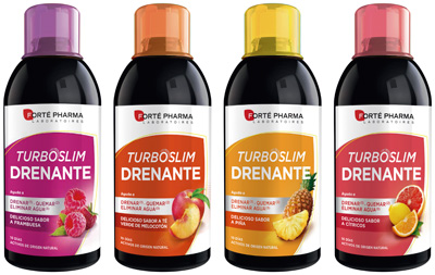 TurboSlim Drenante te ayuda a controlar el peso, quemar grasas, favorecer la eliminación de agua, eliminar toxinas y reequilibrar tu organismo