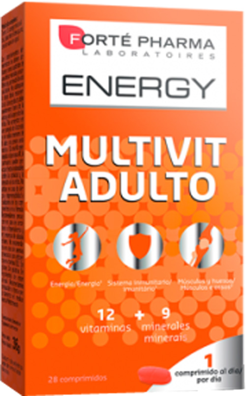 Forté Pharma Multivit Adulto