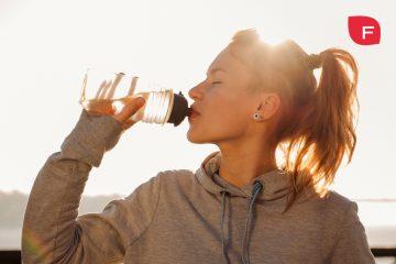 Hidratación en el deporte; antes, durante y después del ejercicio