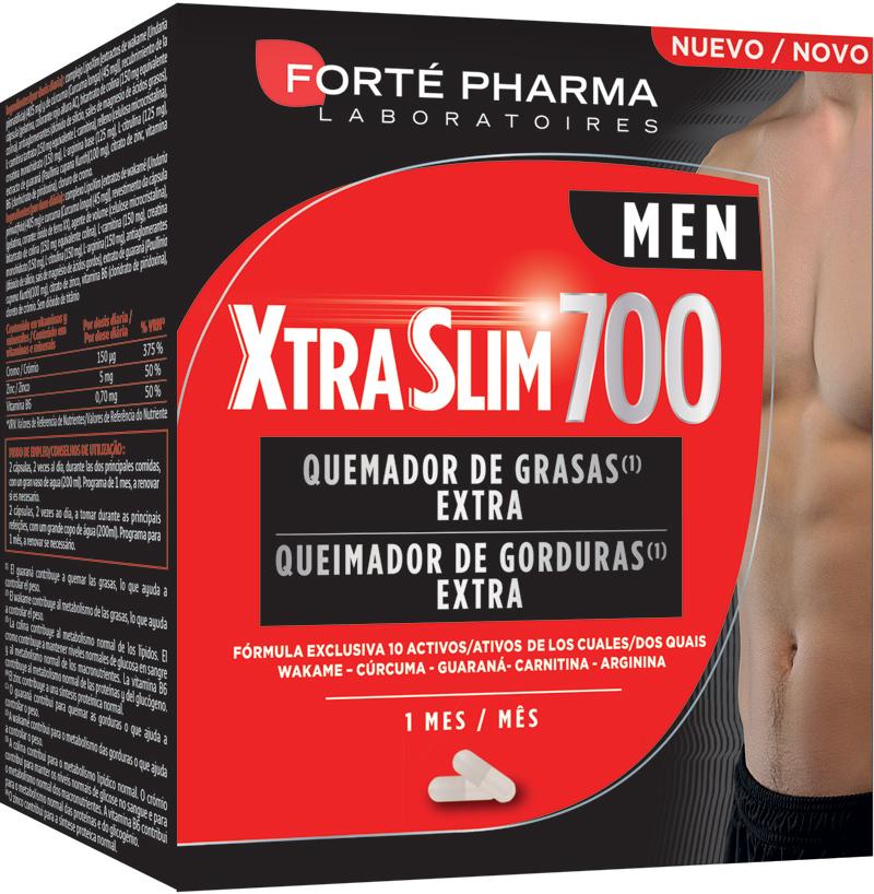Forté Pharma XtraSlim 700 Men - Quemador de Grasas Extra