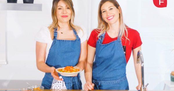 Ensalada de tofu; aliada en la pérdida de peso durante la menopausia