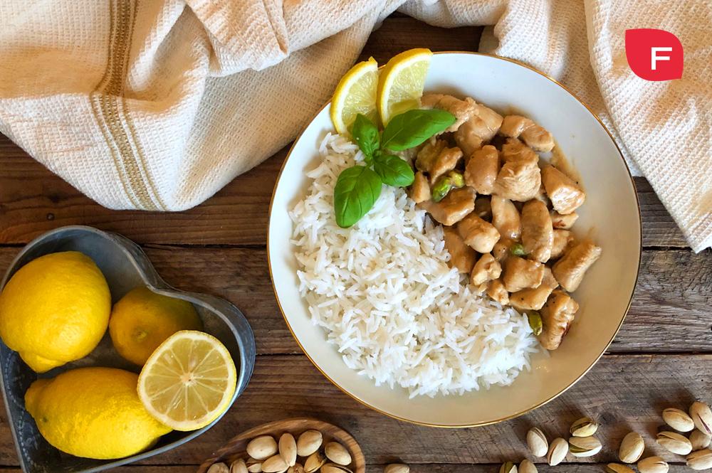 Pollo al limón; receta de un plato sencillo, delicioso y saludable