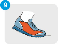 Sigue las indicaciones sobre la vida media de la zapatilla que indica el fabricante
