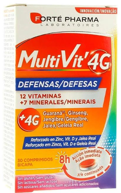 Forté Pharma MultiVit'4G Defensas