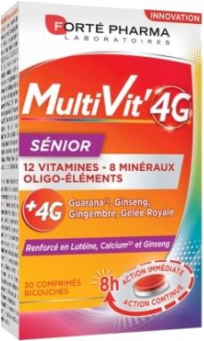 Forté Pharma MultiVit'4G Senior