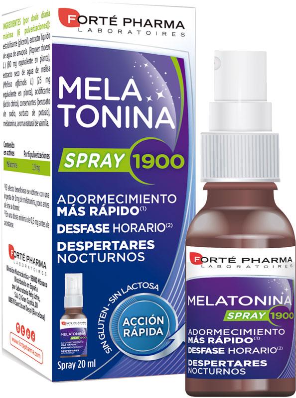 Forté Pharma Melatonina Spray 1900
